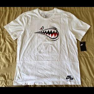 Nike AF1 Air Force 1 Warhawk Shark Tee T Shirt XXL